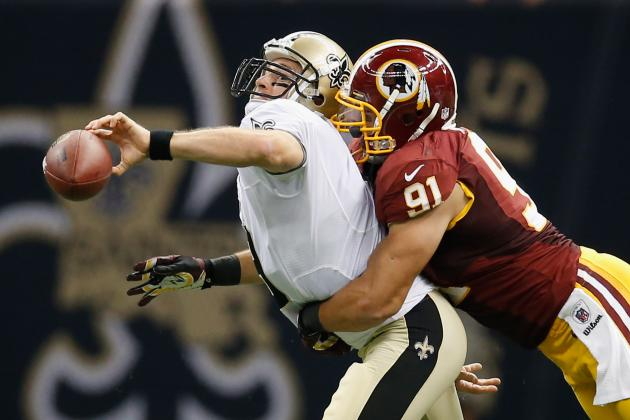 Saints vs Redskins: Drew Brees Struggles but Loss to Washington a Team Effort