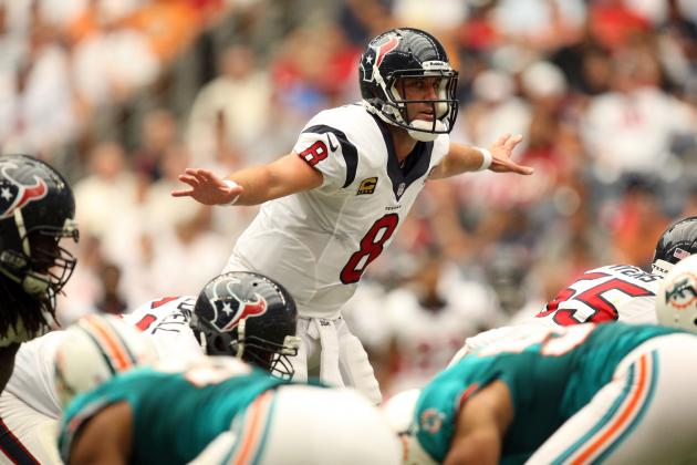 Houston Texans Take Big Risk by Re-Signing Matt Schaub