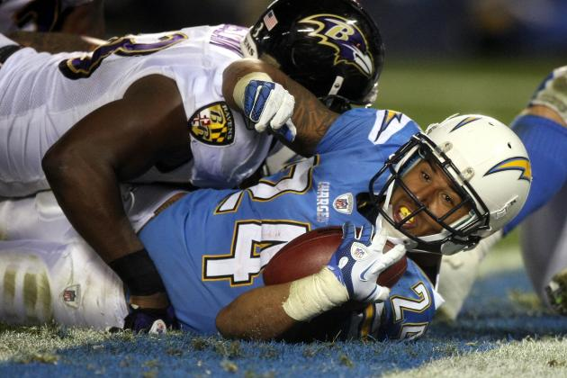 San Diego Chargers: Why Ryan Mathews' Absence Will Cripple Chargers in Week 1