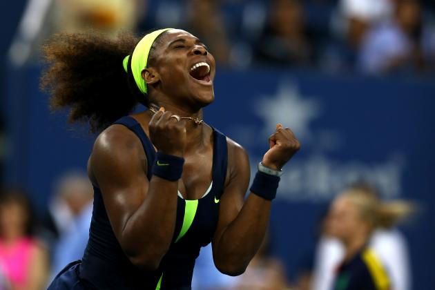 US Open Tennis 2012 Results: Serena Williams Proves She's Best Ever with Win