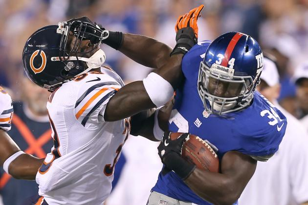 New York Giants: How Long Will David Wilson Be in Tom Coughlin's Doghouse?