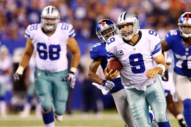Dallas Cowboys' Heroes and Zeros vs. New York Giants