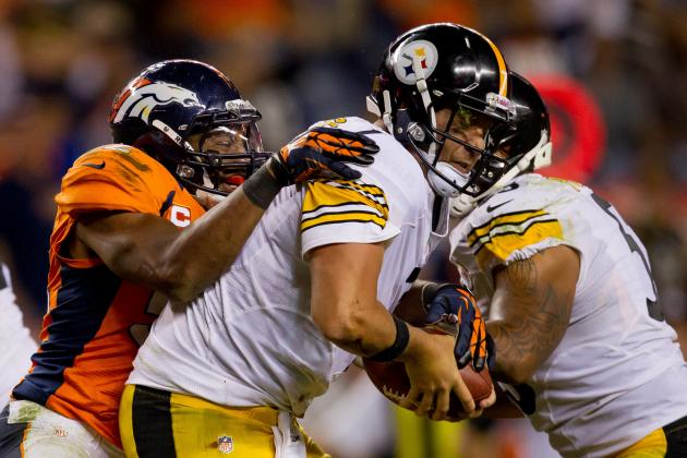 Steelers vs. Broncos: Manning Gets Better of Dick LeBeau, PIT O-Line Woeful
