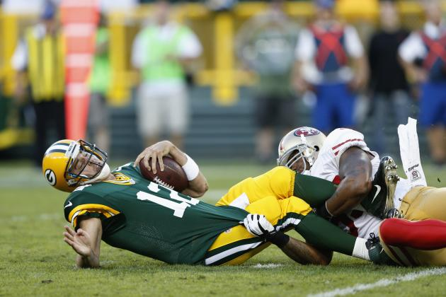Offense Disappoints in Green Bay Packers' Loss to San Francisco 49ers