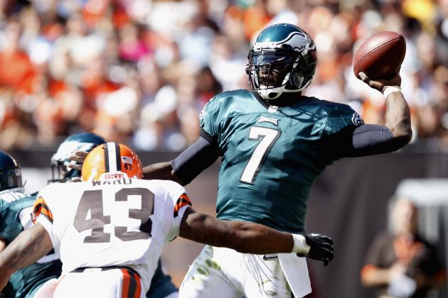 Michael Vick: Is the Philadelphia Eagles' QB Rusty, Bad or Both?
