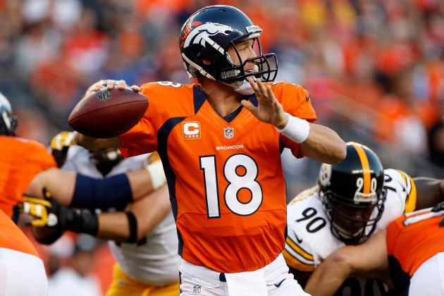 Fantasy Football: Peyton Manning Headlines AFC Revelations for NFL Week 1