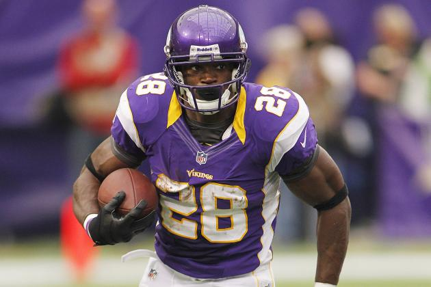 Week 2 Fantasy Football Projections: Adrian Peterson and RBs with Good Matchups