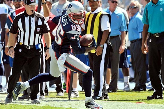 Brandon Lloyd Perseveres in Patriots Debut