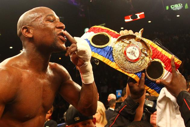 Floyd Mayweather Jr. Should Fight Middleweight King Sergio Martinez Next