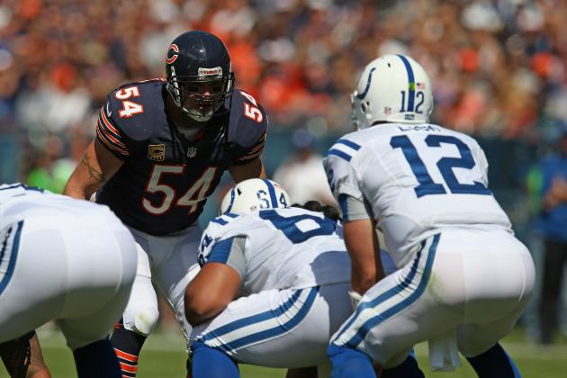 Chicago Bears Defense and Urlacher Look Great in Win over Colts & More NFC News