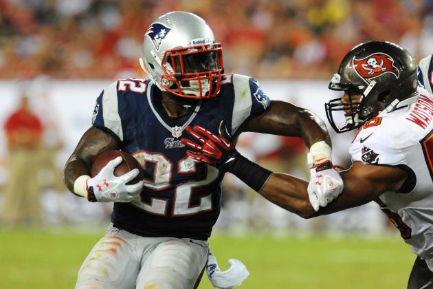Start 'Em, Sit 'Em Week 2: Stevan Ridley, C.J. Spiller and RBs You Must Start