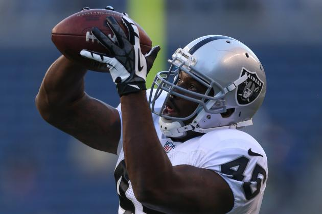 Oakland Raiders Sign Hybrid Fullback Marcel Reece to Contract Extension