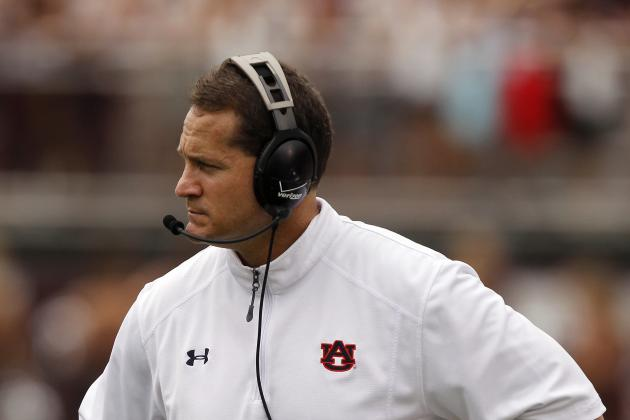 Auburn's Gene Chizik Must Find Recipe for Success in Week 3