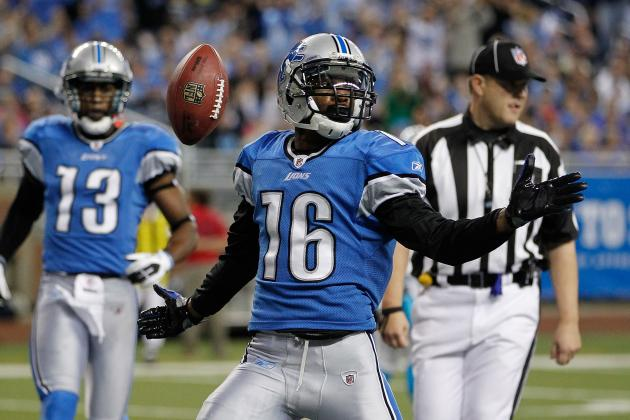 Detroit Lions' Receiver Titus Young Continues to Show His Immaturity