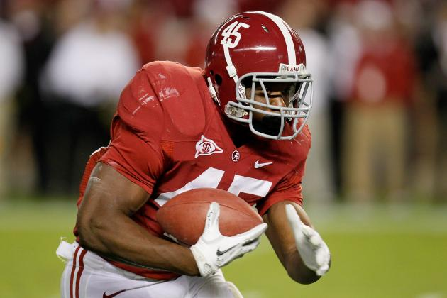Jalston Fowler: Alabama RB Will Likely Miss 2012 Season Following Knee Surgery