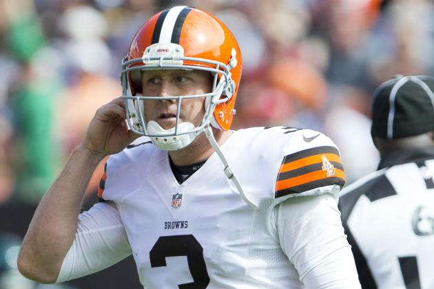 Where Does Brandon Weeden Need to Improve Most After Sloppy Start With Browns?