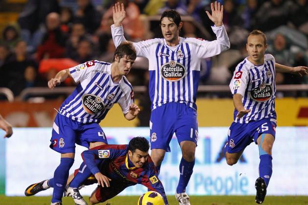 Deportivo La Coruna: La Liga BBVA Team of the Week