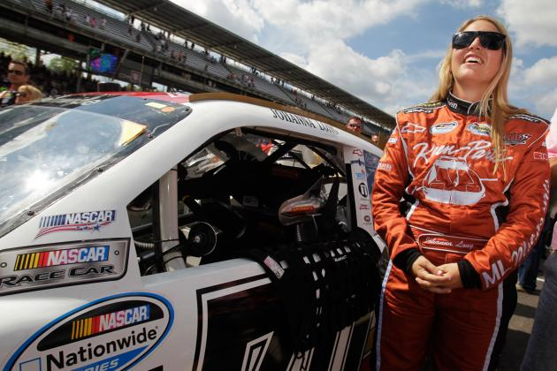 Johanna Long Hopes to Keep Improving After Impressive Nationwide Run at Richmond