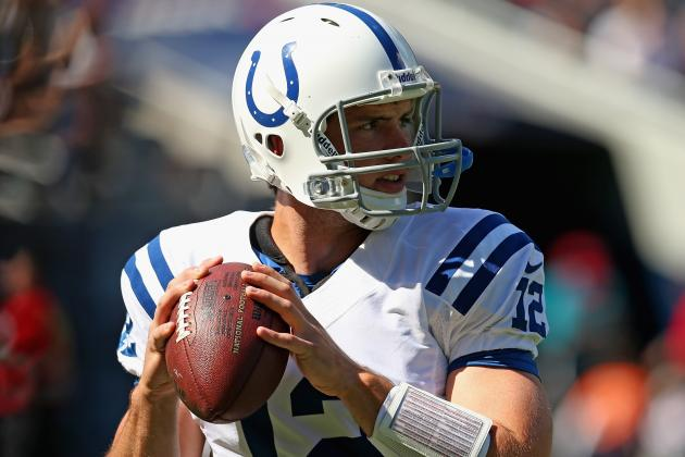 Andrew Luck and Peyton Manning: Comparing the First NFL Starts of Colts QBs