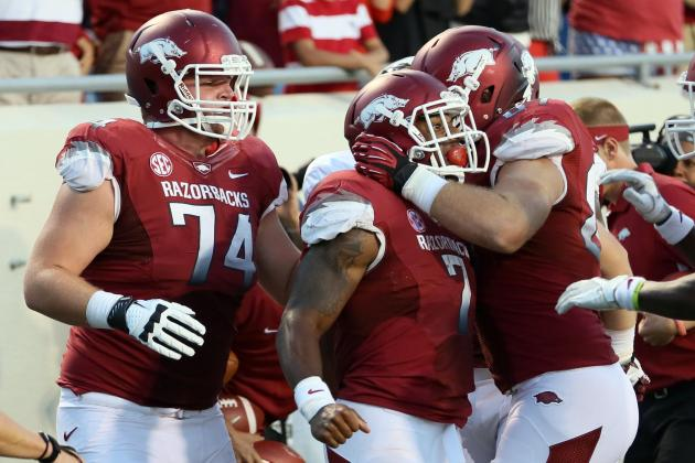 Alabama vs. Arkansas: Hogs Need to Get Back to Basics
