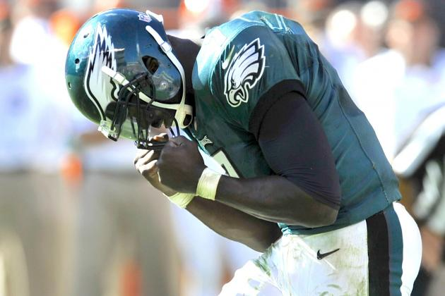 Philadelphia Eagles: Breaking Down Michael Vick's Mistakes in Cleveland