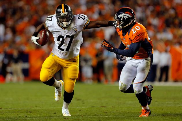 Jonathan Dwyer: Productive Week 1 Makes RB a Solid Fantasy Pickup