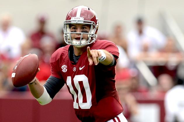 A.J. McCarron: How Alabama QB Is Becoming One of the Nation's Elite