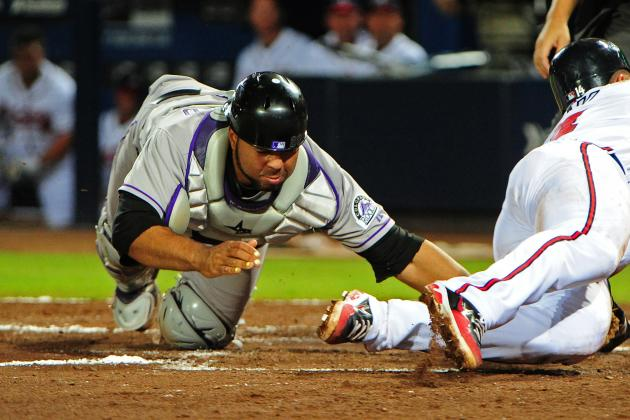 Rockies Send Message to Rosario: Clean Up Your Act Behind Plate