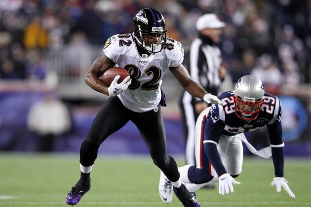 Torrey Smith's Vertical Threat Makes Baltimore Ravens AFC Super Bowl Favorites