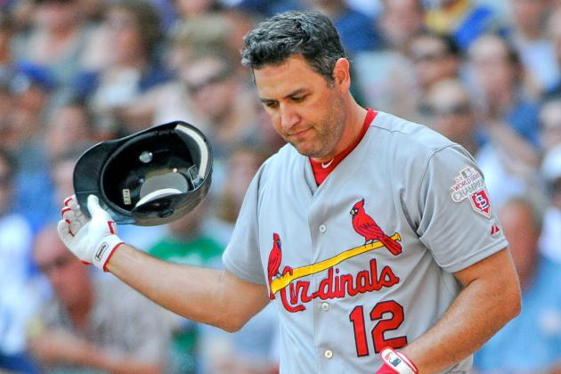 What Season-Ending Knee Surgery Means for Lance Berkman's MLB Future