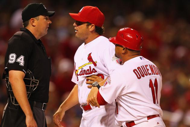 St. Louis Cardinals: Matheny's First Season Report Card by GM Mozeliak