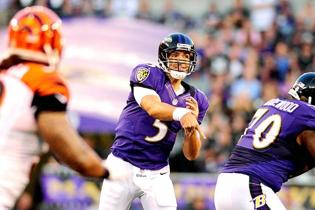 Joe Flacco Leads Baltimore Ravens to 44-13 Win over Cincinnati Bengals