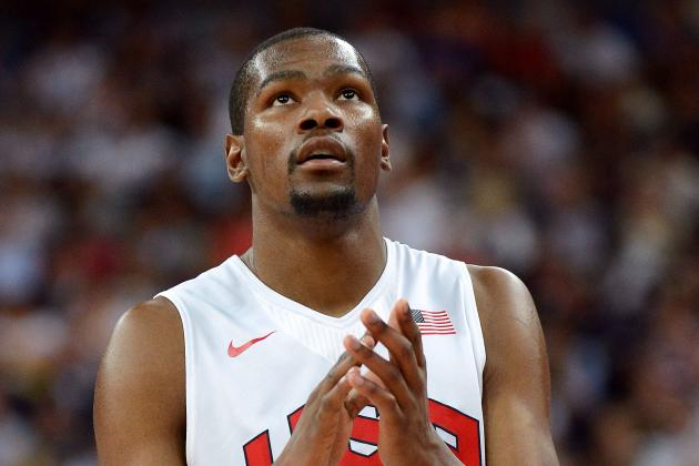 Is Kevin Durant Wasting His Summer Instead of Working on His Defense?