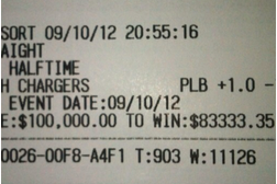 'Money May' Bets $100K on MNF