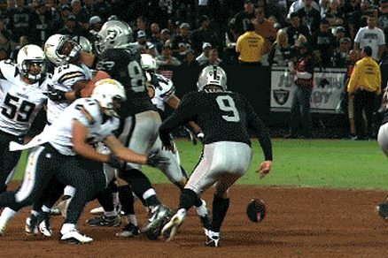 Raiders Punt Team Epically Bad
