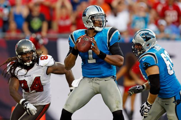 Carolina Panthers: Cam Newton Throws 2 Picks, Calls 1 'Disgusting'