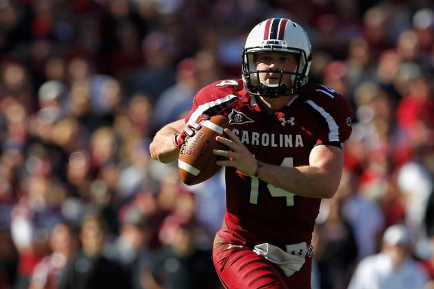 Connor Shaw: South Carolina QB Will Not Be Rushed Back to Start in UAB Game
