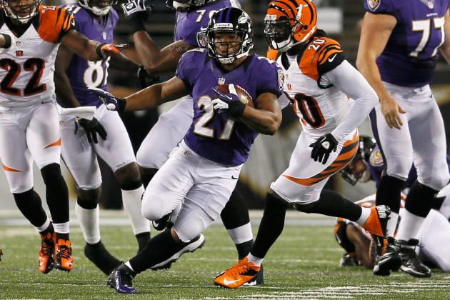 Fantasy Football: Ray Rice Headlines Monday Revelations from Bengals-Ravens