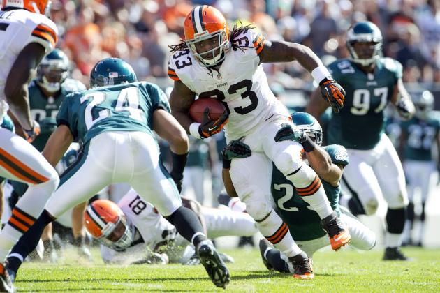 Trent Richardson: Fantasy Football Owners Should Be Worried About Browns RB