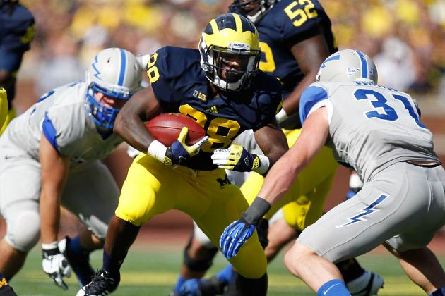 Michigan Football: Wolverines Need Fitzgerald Toussaint to Step Up in Week 2