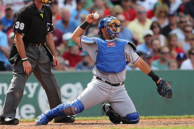 Opponents Have Run Wild on Rangers Catchers, Pitchers