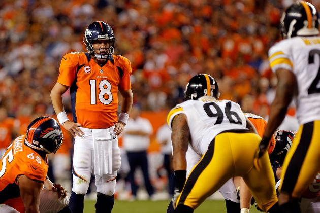 Peyton Manning Returns and Plays as If He'd Never Been Away