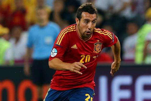 Georgia vs. Spain: Santi Cazorla & Players Who Will Shine in World Cup Qualifier