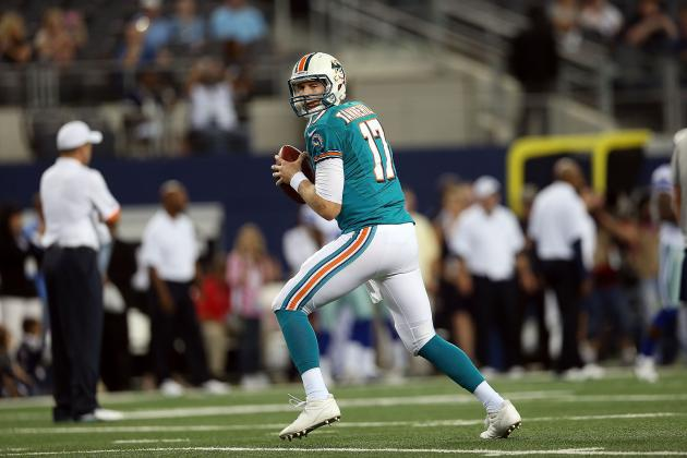 Miami Dolphins: Ryan Tannehill Needs a Dominant Wide Receiver Immediately