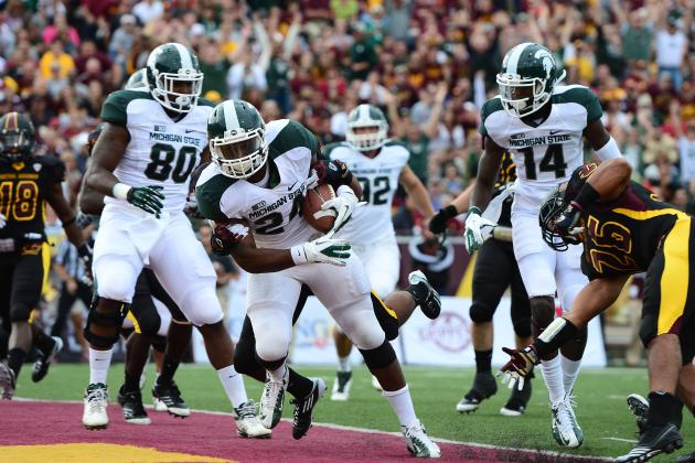 Notre Dame vs. Michigan State: Is It All on LeVeon Bell to Carry Sparty to a W?