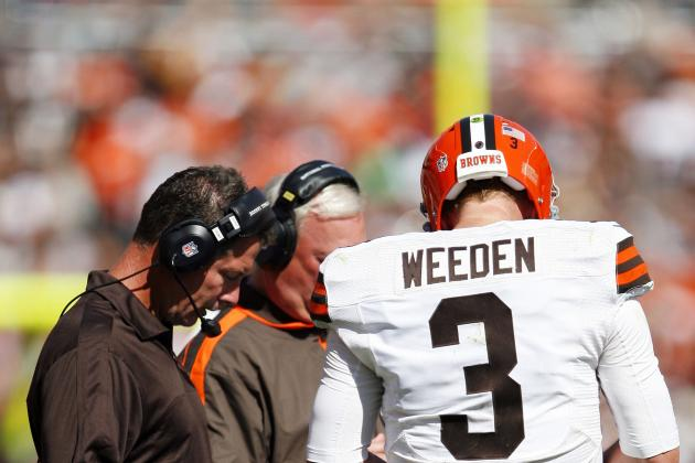 Cleveland Browns: Brandon Weeden's Failure Could Spell Doom for Franchise
