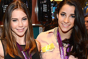 London Olympic Star Gymnasts McKayla Maroney and Aly Raisman Injured on Tour