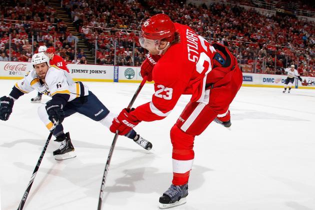 Las Vegas Bookmakers Lengthen Wings' Stanley Cup Odds