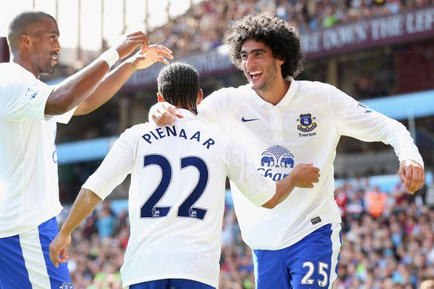 Everton FC: Toffees Have What It Takes to  Finish  Among Top Four in 2012-13