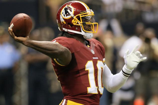 Robert Griffin III: Why Redskins QB Will Be Consistent Fantasy Stud